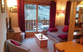 MERIBEL appartement lumineux de 2 pièces pour 4 personnes proche lac et parc Vanoise.