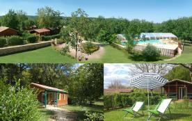 Le parc de loisirs et sa piscine couverte