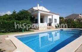 Location de cette villa à Ametlla de Mar