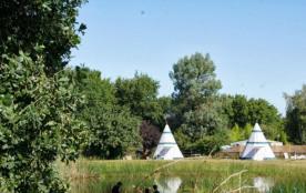 Camping L'Étang du Pays Blanc - Mobilhome (2 chambres) avec terrasse couverte