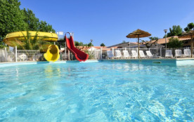 Camping 3* Les Cigales - Gîte 2 chambres 5pers