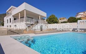 La belle piscine (eau salée) de 11 x 5 es