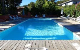 Villa T3 clim piscine et proche des plages à st lucie de porto vecchio