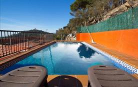 Modern Villa in Blanes pour 12 personnes avec vue sur La Mer Mediterranée!