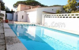 location villa avec piscine privée à L'Escala pour 6 personnes |fx00003