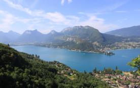 Le lac d'Annecy, panorama à proximité