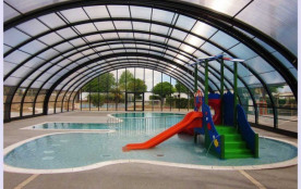 Camping L'Océano D'Or - Mh Caraïbes 2Ch 4/6pers + Terrasse en Bois