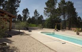 Gîte 4* indépendant pour 4 personnes avec piscine en Ardèche Méridionale - Vinezac