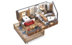 Résidence Koh-I-Nor - Appartement 3 Pièces 4 personnes 55m²