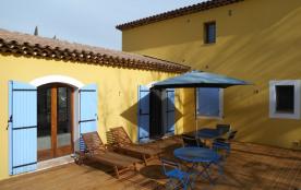 Côte d'azur - Villa 8 personnes - Magnifique vue