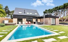 squarebreak, Maison neuve avec piscine près de Carnac