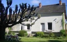 Gîtes de France - Entre Touraine et Vallée de la Loire, au centre des Châteaux, gîte mitoyen à un...