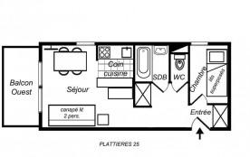 Appartement 2 pièces 4 personnes (25)