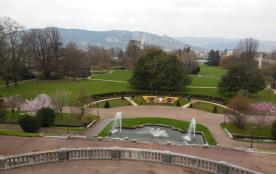 Parc Jouvet de 5 hectares  à 200 mètres de l'appartement