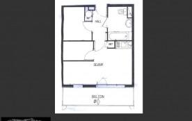 Appartement 2 pièces cabine 4-6 personnes (312)