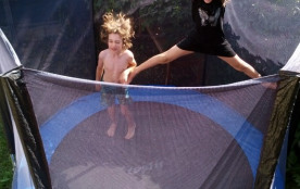 Wouah ! un grand trampoline