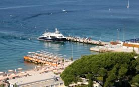 Embarcadère pour Les îles de Lérins ou St-Tropez