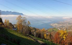 Maison pour 3 personnes à Montreux