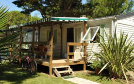 MOBIL-HOME 3 CHAMBRES AVEC TERRASSE !
