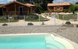 Location gîtes climatisés 4/6p avec piscine à Ruoms en Ardèche Sud