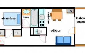 Appartement 2 pièces 4 personnes (33)