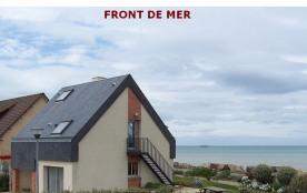 """Villa véritable """" FRONT de MER """" plage du débarquement en NORMANDIE"""