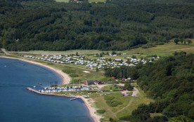 Rosenvold Strand Camping, 260 emplacements, 7 locatifs