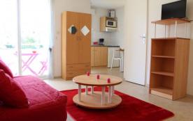 La Rochelle (17) - Les Minimes - Résidence La Rochelière 3. Appartement 1 pièce - 24 m² environ -...