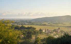 Une vue magnifique sur la campagne