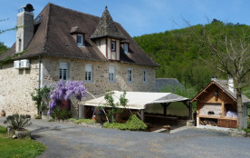 Gîte rural en vallée de la Dordogne