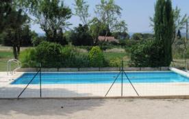 Gîtes de France. Dans les collines de Saint-Antoine, villa indépendante avec piscine privée clôtu...