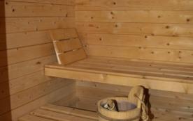 Espace détente : Sauna
