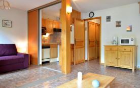 Le Grand Bornand 74 - Secteur Village - Résidence Le Cornillon B. Appartement 3 pièces de 39 m² e...