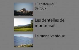 Mont-Ventoux :maison de vacances de 4 à 9 chambres