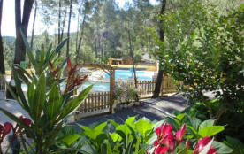 Camping Bois Simonet - Chalet FOUGERE - 2 chambres