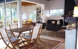 Agreable maison avec grand jardin à louer proche plages