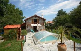 FR-1-4-5 - Maison Inalateguia- villa de caractère avec piscine
