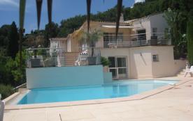 Location villa moderne Vallauris Cote d'Azur pour 10 personnes