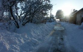 Le Chenel sous la neige