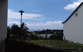Studio avec vue sur mer dans résidence privée avec piscine