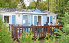CAMPING LANDES BLEUES - Mobil home gamme confort 2 chambres