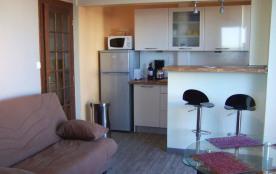Très bel appartement avec vue sur océan, quatrième étage d'une résidence avec ascenseur.