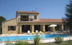 Grande villa + piscine - Canal du Midi 1km Somail