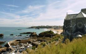 Biarritz (64) - Plateau de l'Atalaye- Villa Beausite. Appartement vue mer 5 pièces - 100 m² envir...