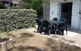 Appartement 6 personnes avec jardinet - Chalet Arayade - proche forêt - 40600 Biscarrosse Plage