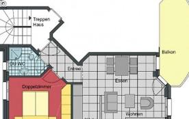 Appartement pour 2 personnes à Saas-Grund