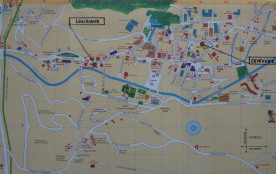 Plan situation des deux appartements dans centre ville
