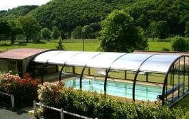epace piscine/spa vue des gites