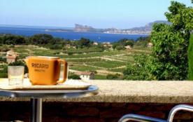 Authenticité et charme d'une vieille Bastide Provencale  Vue Mer  avec Grande Piscine - La Cadière d'Azur