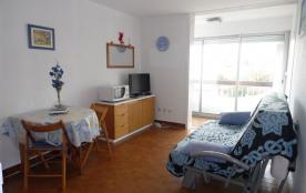 Agréable studio 2 couchages au 1er étage, dans l